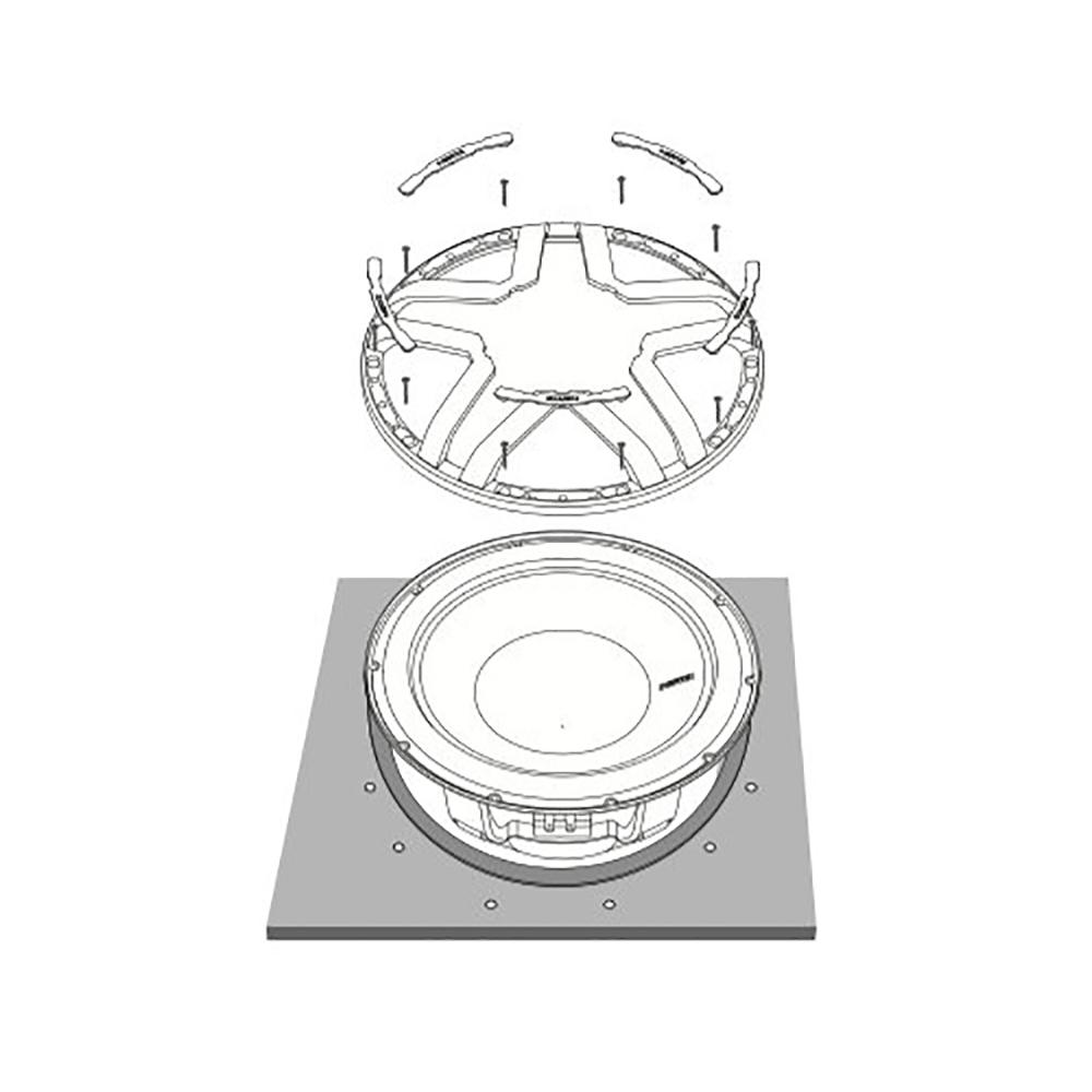 Защитная сетка Hertz ESG 300 GR.4 Grille 2
