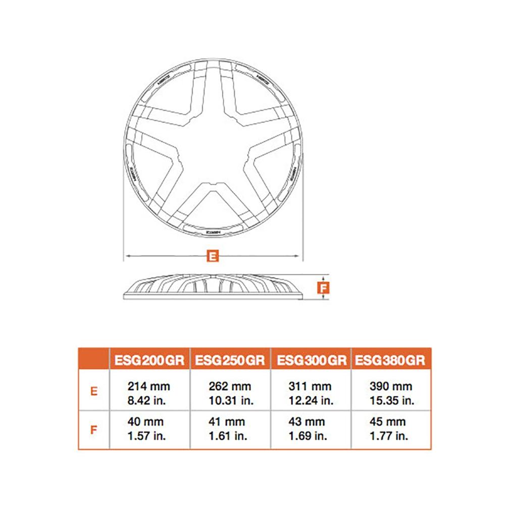 Защитная сетка Hertz ESG 300 GR.4 Grille 3