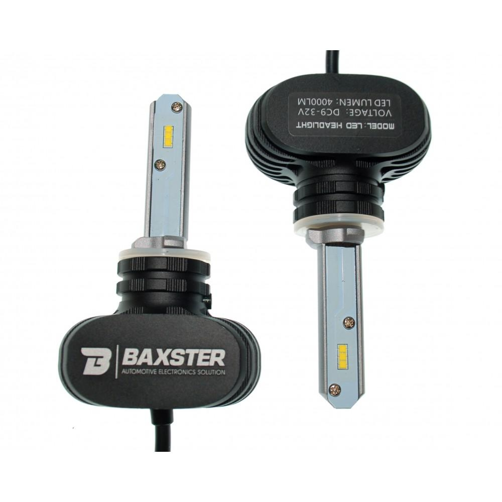 LED лампа Baxster S1 H27 5000K 4000Lm(2шт) 2