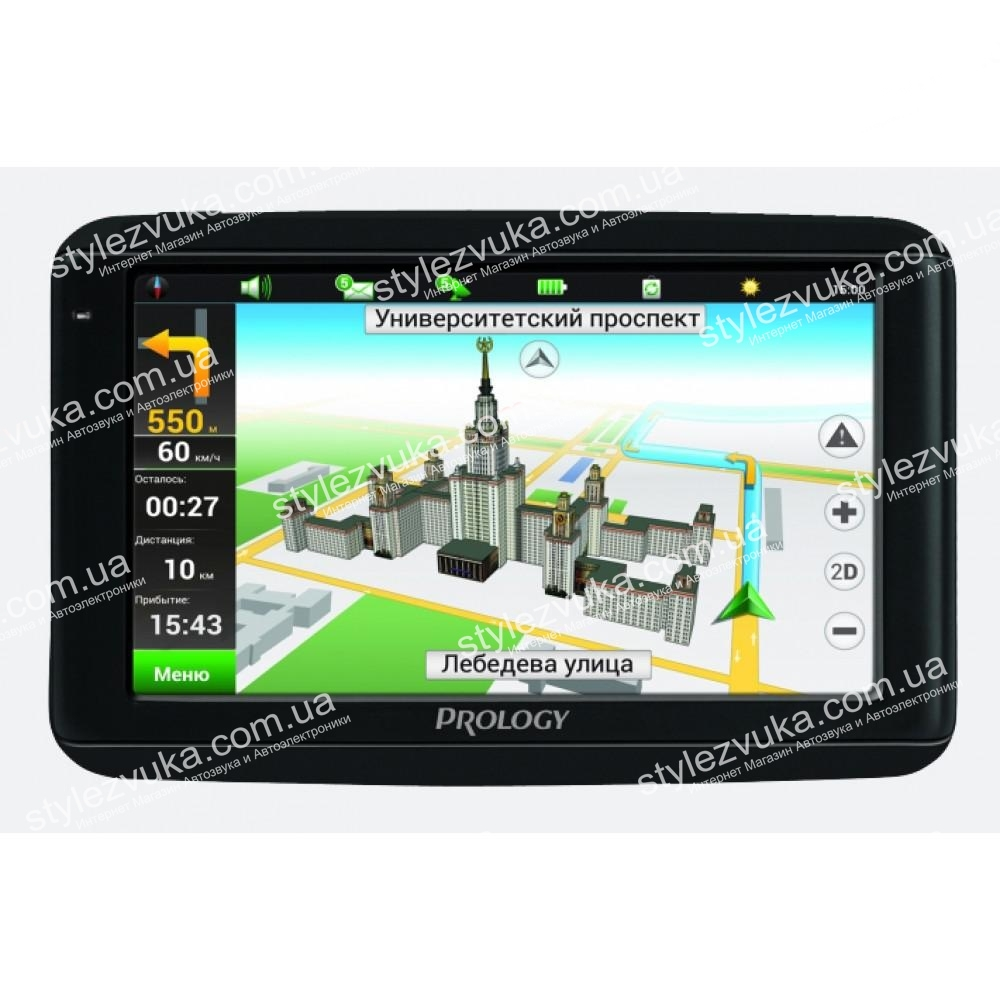 GPS навигатор Prology iMAP-7100 (Навител Содружество) 2