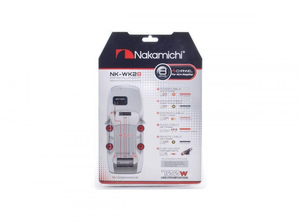 Набор для подключения усилителя Nakamichi-WK28 3