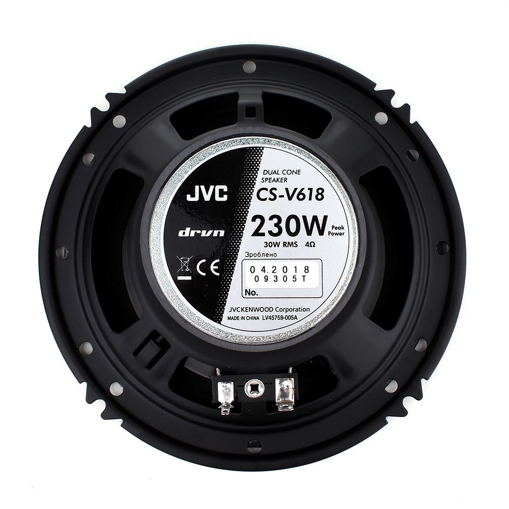 Автоакустика JVC CS-V618JQ 3