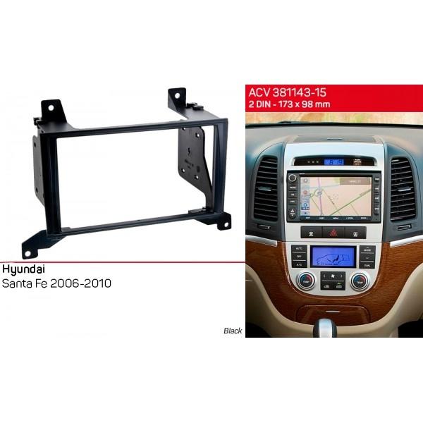Переходная рамка Hyundai Santa Fe ACV 381143-15 2