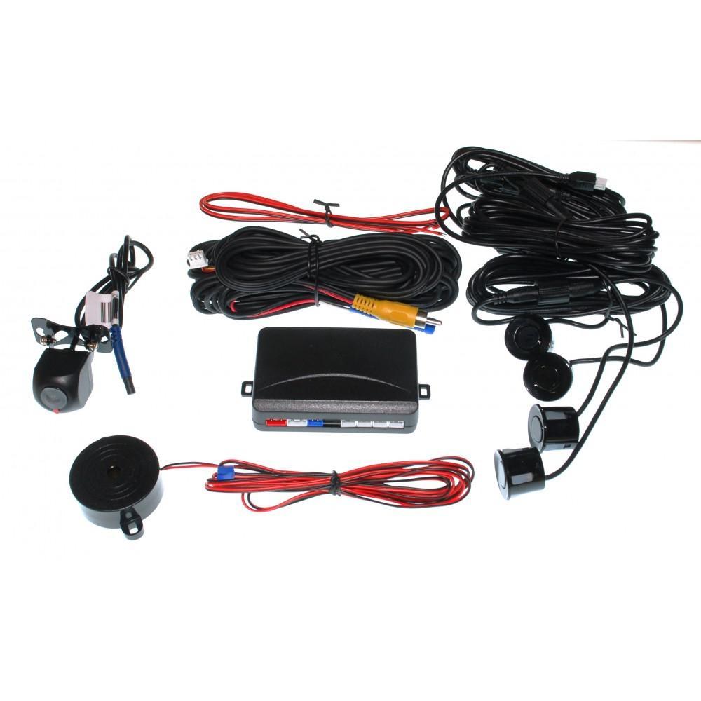 Парктроник Baxster VPR-4777 черный + камера 2