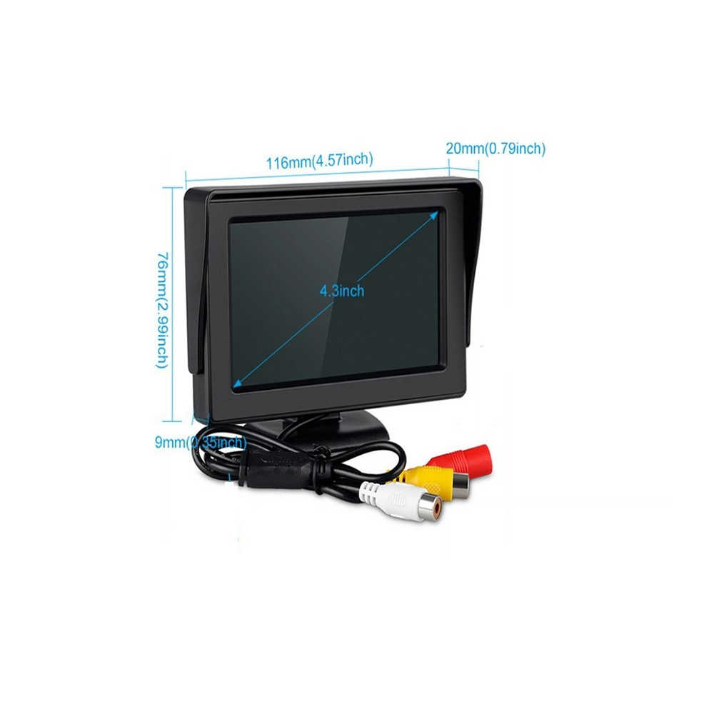 Монитор к камерам Cyclone ET-439 3