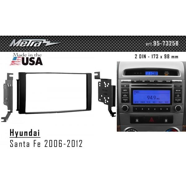 Переходная рамка Hyundai Santa Fe Metra 95-7325 2