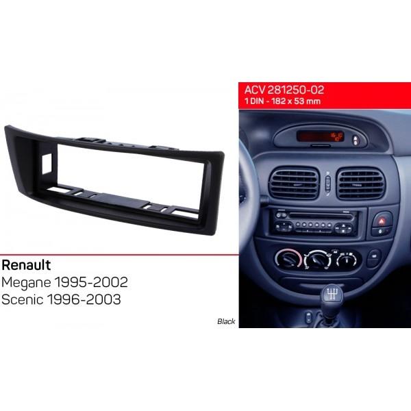 Переходная рамка Renault Megane, Scenic ACV 281250-02 2