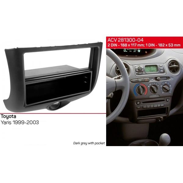 Переходная рамка Toyota Yaris ACV 281300-04 2