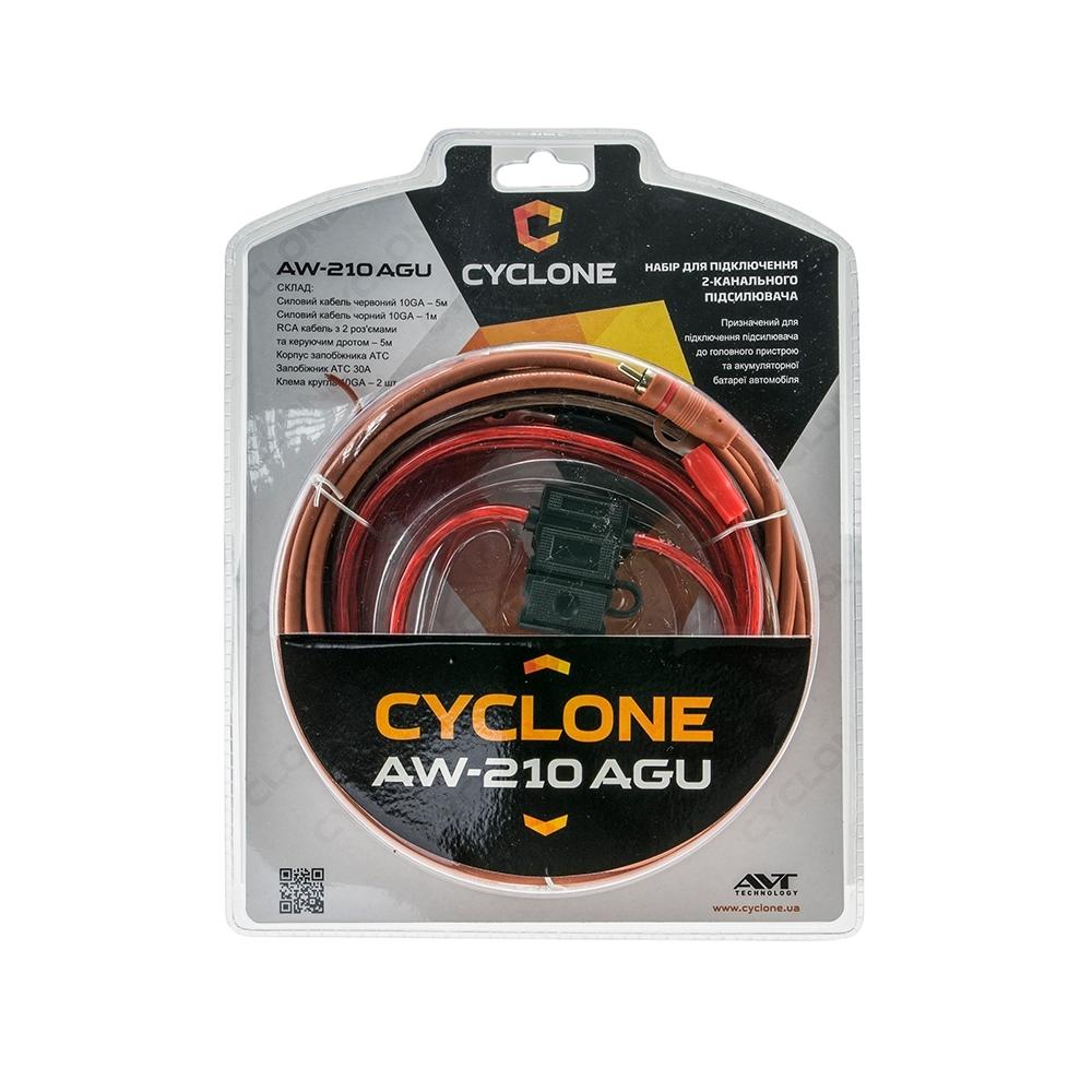 Набор для подключения усилителя Cyclone AW-210 AGU 3