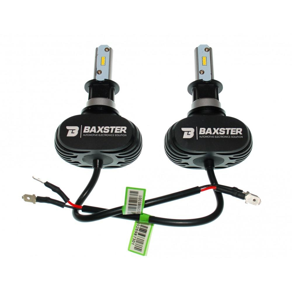 LED лампа Baxster S1 H3 6000K 4000Lm (2 шт) 3