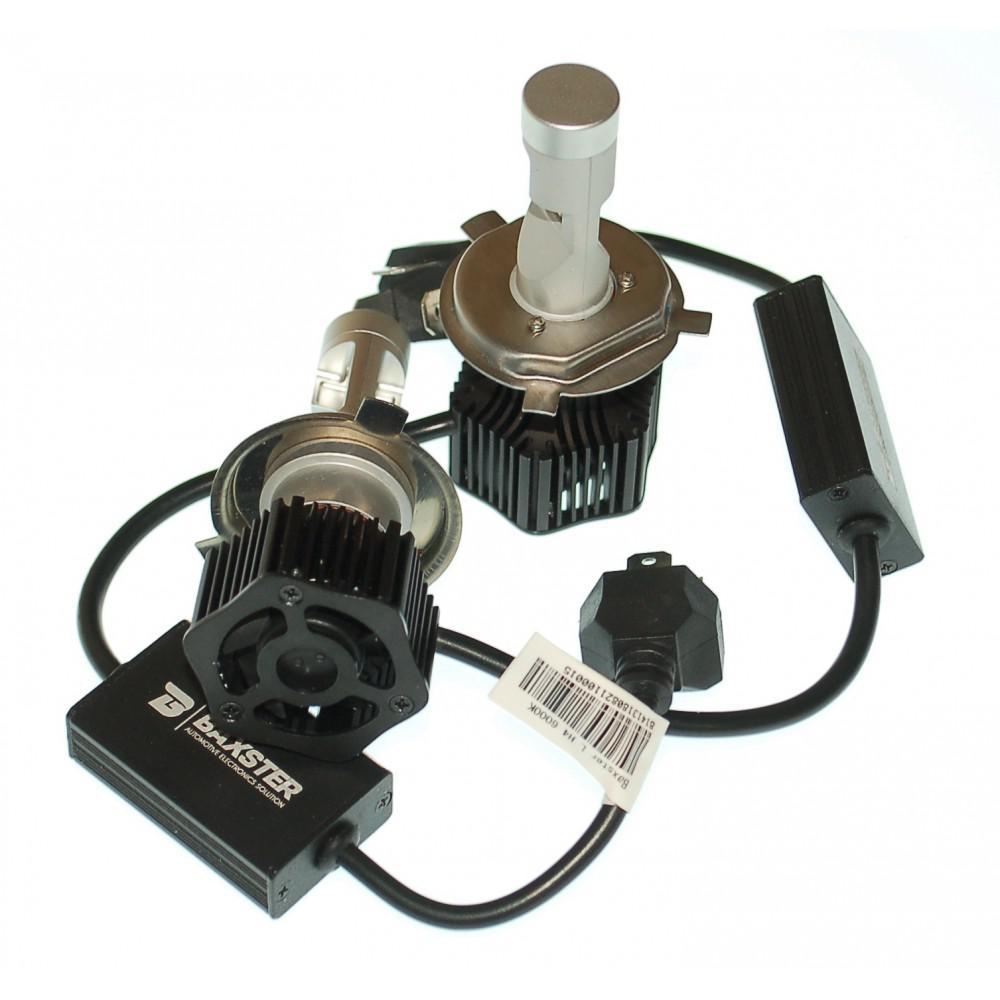 LED лампа Baxster L H4 6000K (2 шт) 2