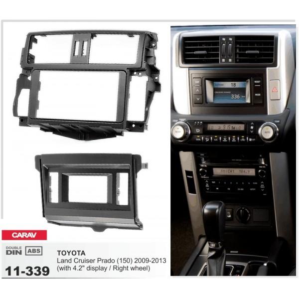 Переходная рамка Toyota Land Cruiser Prado 150 Carav 11-339 2