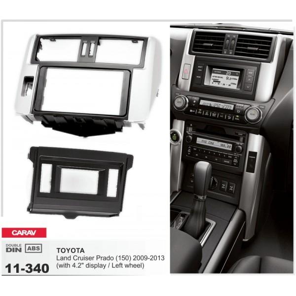 Переходная рамка Toyota Land Cruiser Prado 150 Carav 11-340 3