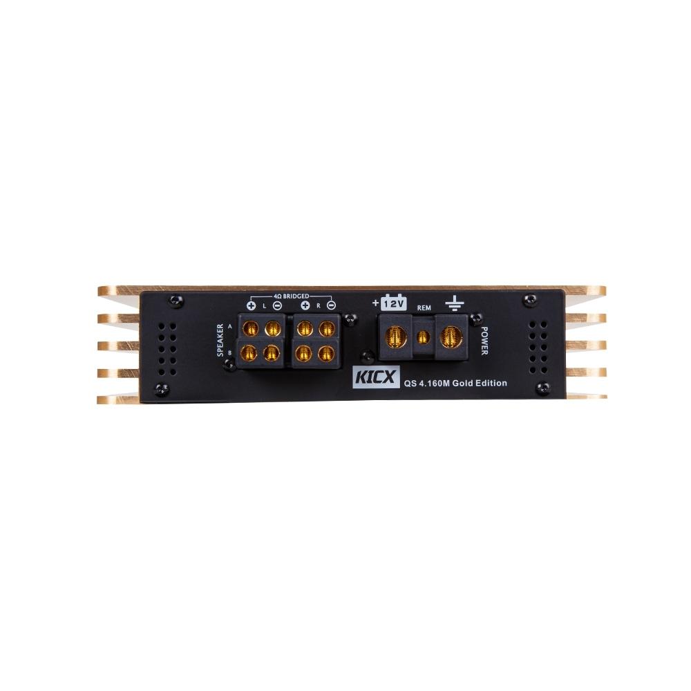 Усилитель Kicx QS 4.160M Gold Edition 2