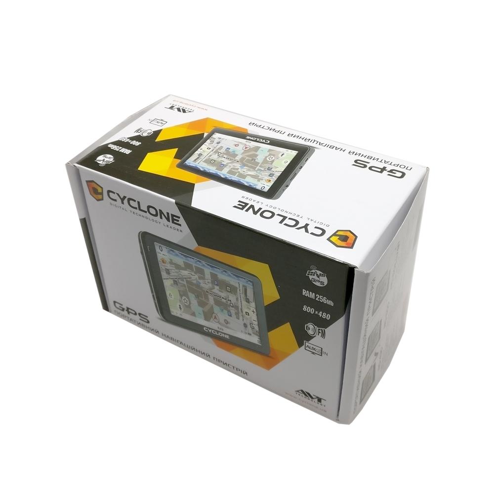 GPS навигатор Cyclone ND 505 AV BT 3