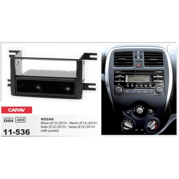 Переходная рамка Nissan CARAV 11-536 3