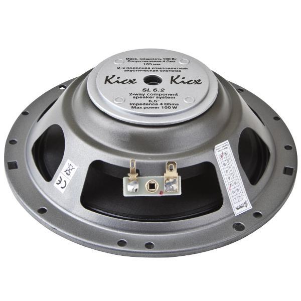 Автоакустика Kicx SL- 6.2 3