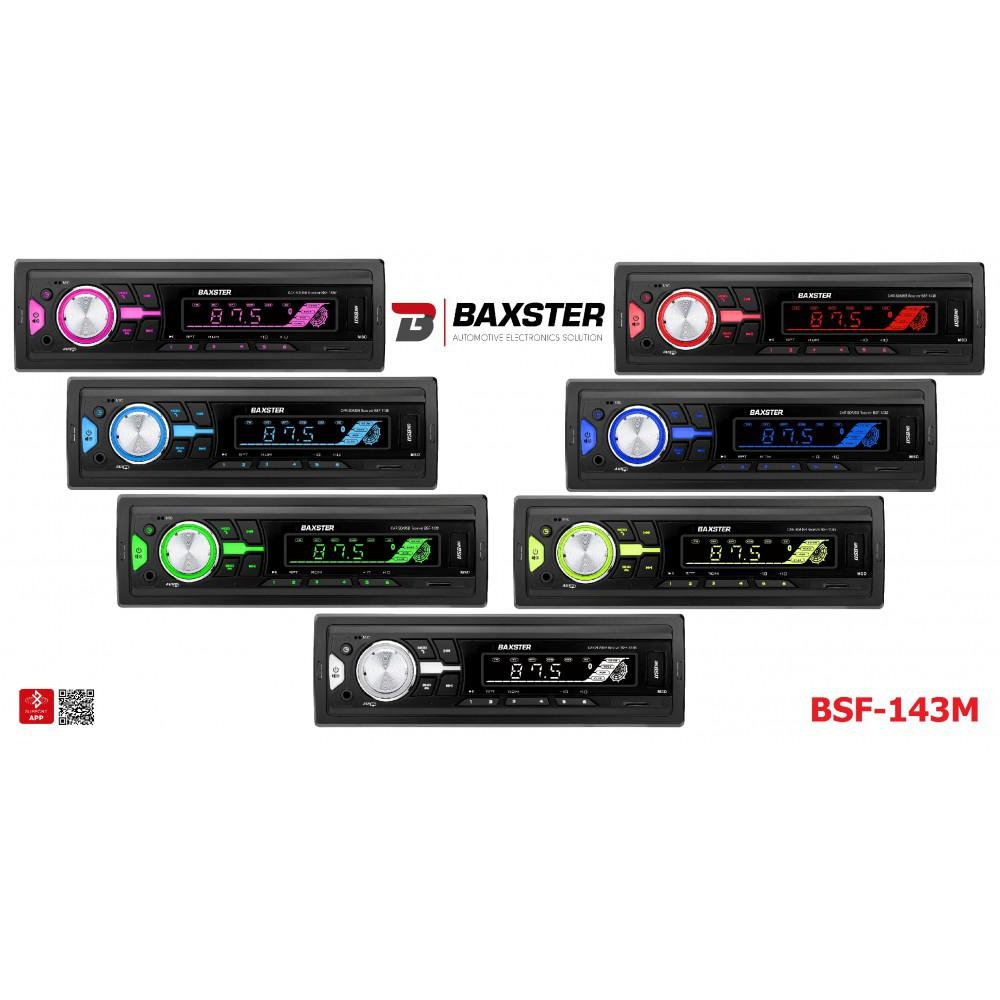 Автомагнитола BAXSTER BSF-143 Multicolor 3