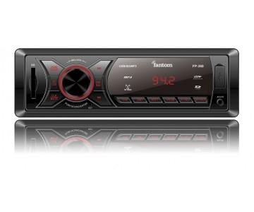 Автомагнитола Fantom FP-360 Black/Red 2