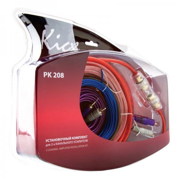 Набор для подключения усилителя Kicx PK-208 2