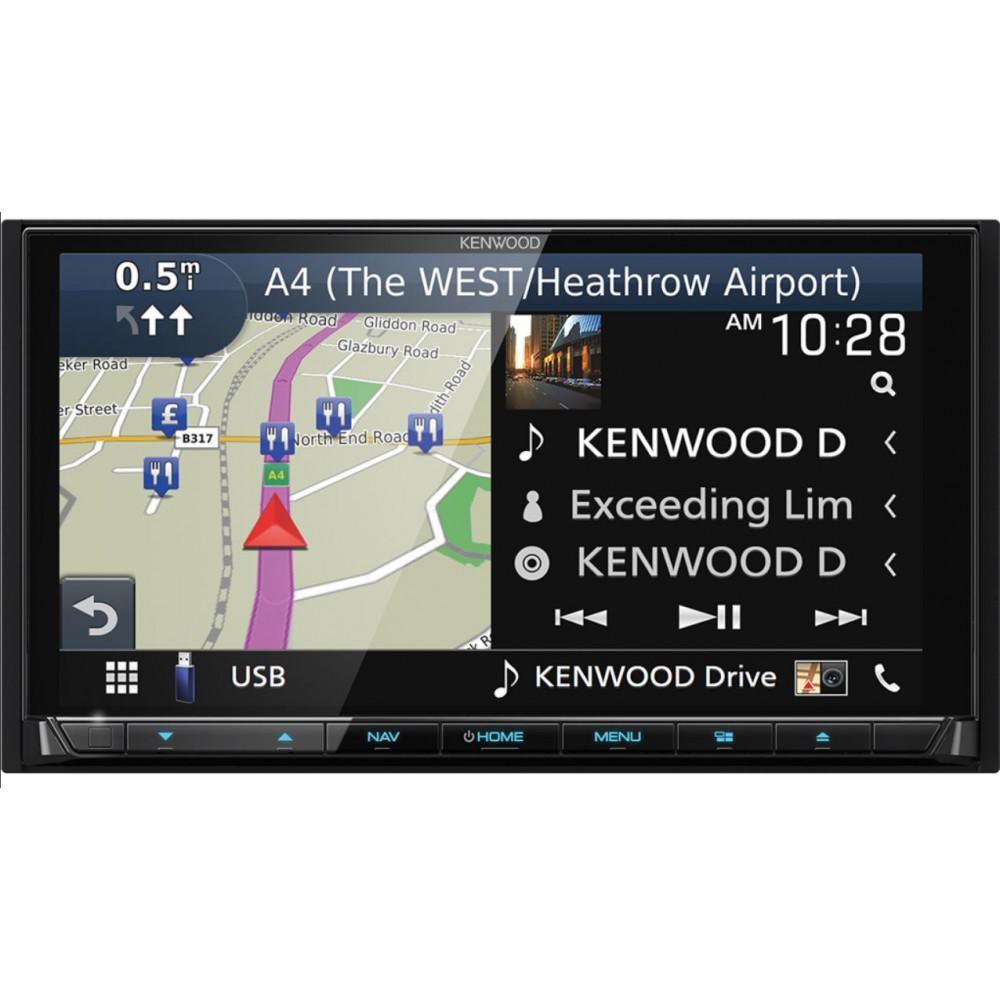 Мультимедийный центр Kenwood DNR-9180DABS 3