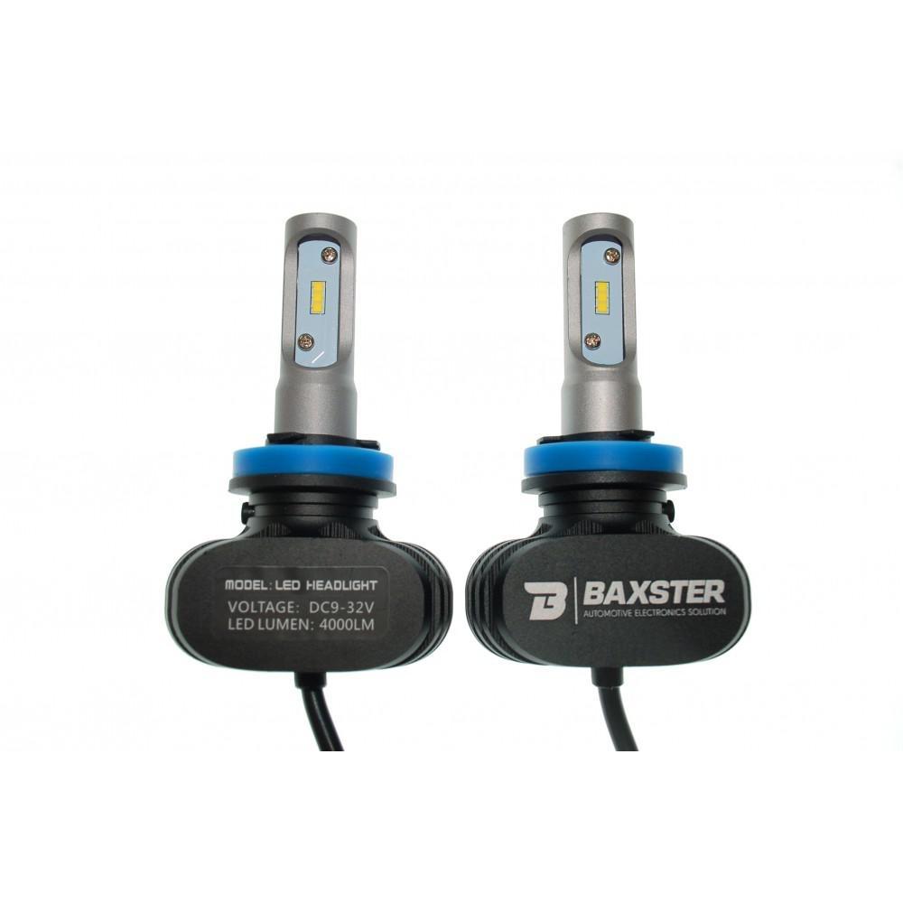 LED лампа Baxster S1 H8 6000K 4000Lm (2 шт) 3