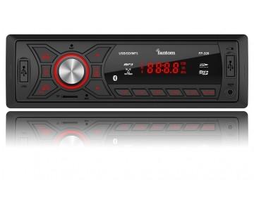 Автомагнитола Fantom FP-326 Black/Red 3