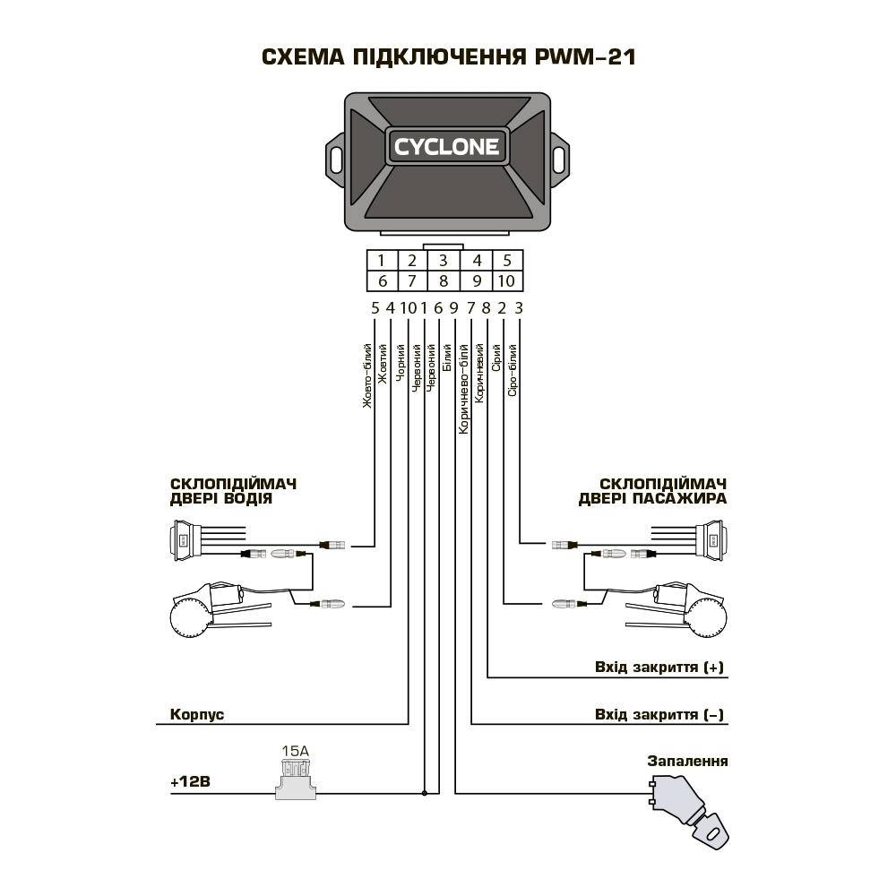 Модуль стеклодоводчика Cyclone PWM-21 3