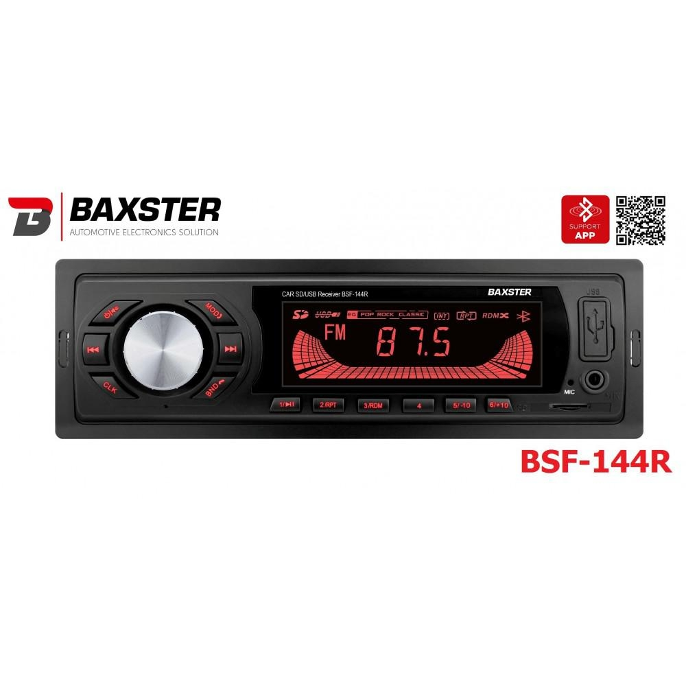 Автомагнитола BAXSTER BSF-144 red 3